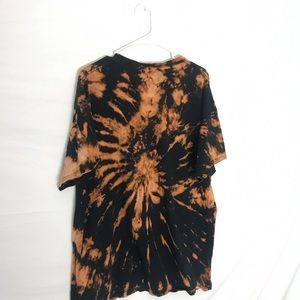 Urban Outfitters Shirts - CUSTOM TIE DYE TRIPPY SMILE FACE T-SHIRT